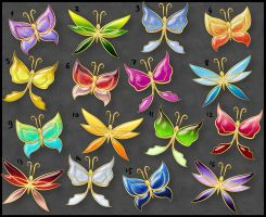 Butterflies (lottery prizes) by Rittik-Designs