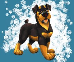 Rottweiler by FablePaint