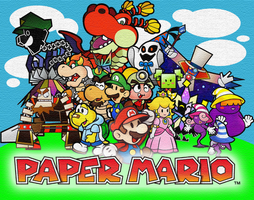 Paper Mario by Fawfulthegreat64