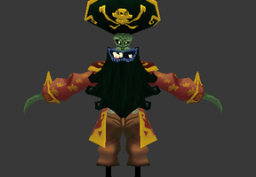 Pirate LeChuck by Lowpoly-Workshop
