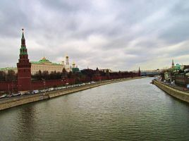 Moscow Kremlin by exogadget