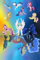 With the Power of Friendship by Nissatron5000