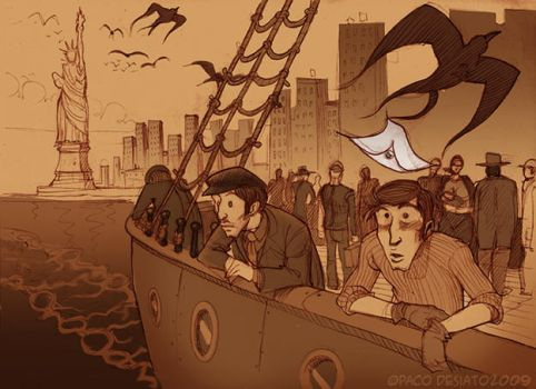 Immigrants by pacodesiato