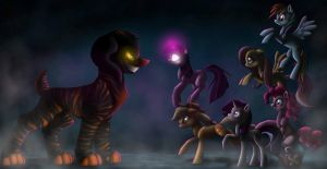 The new dark caracter of MLP by Mioumioune