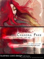 Personal Business Card Design by SpookyChan