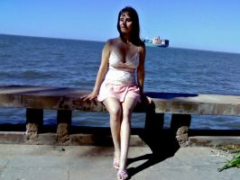 When I was four months pregnant by duzetdaram