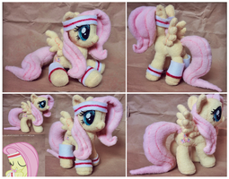 Hurricane Fluttershy plush by lazyperson202