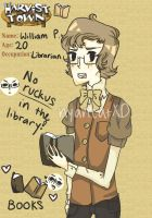 Harvest Town App: William by nyancatXD