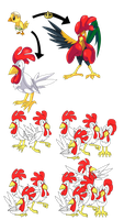 Fakemon: what came first the egg or the chicken? by That-One-Leo
