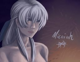 Serene Micaiah - speed paint by RoyLover