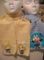 vocaloid scarfs by Zikaeqs