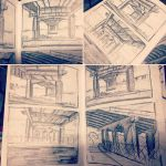 Underpass Sketches by MemorySoul