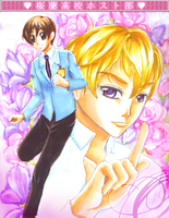 31. Flowers - Ouran by Minakichan