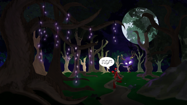 The Wandering Woods by Galvanized-Art