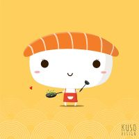 Sushi Mama by kusodesign