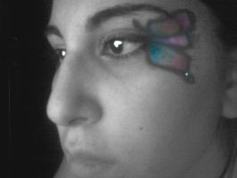 Butterfly make up by ArantxaCosplayer