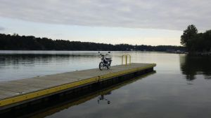 Ride to the Boat Launch by p38lightning7