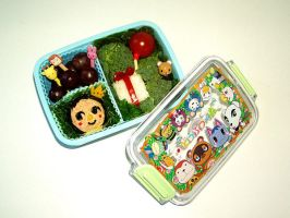 Animal Crossing Bento by Arekkusa