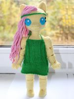 Chibi anthro Fluttershy 2 (staying) (MLP:FiM) by AncarianNixa