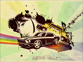 Retro wall by DeLyToO