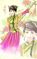 huang rong by emmeraine