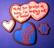 Dr Who Valentine Cookies 5 by Sadeira