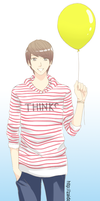 Youngmin with balloon by Adiaz-Airtif