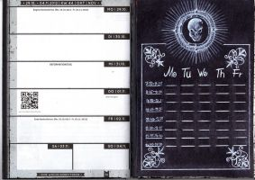 Death Note Timetable by Chimaera94