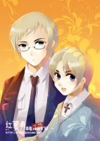 Hetalia Sweden and Finland by Sensyu