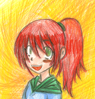 Lisa is similar to the sun by Tenjilover