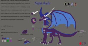 New Nightshade reference sheet by ArystarKroryIII