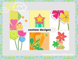 custom designs by ffyunie