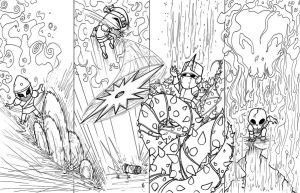 Castle Crashers - inks by teamzoth