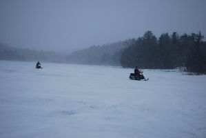 sup snowmobilers by elmiry