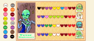Heart Chart Example: Vever by SkooIsCoo