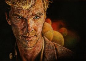 Benedict Cumberbatch by SecondGoddess