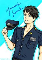 Sousuke Speed-drawing by Tsukimochi