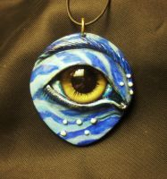 I see You Pendant by mistyscreations
