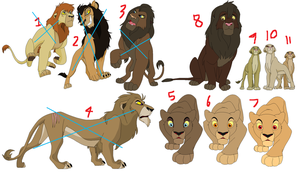 Lion adopts by KirinKade