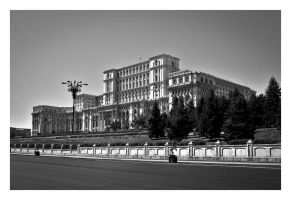 Palace of the Parliament by P1eTru5zka