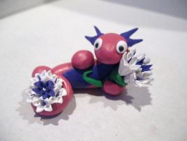 Flowers For You (last sculpey item for just a bit) by drakeo1903