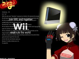 It's all about WII by shaoron