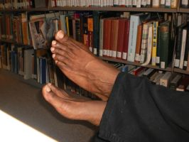 Read a Foot: The Foot Cover by Nomadl3