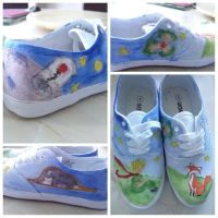 The Little Prince Canvas shoes by miyucita