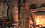 Zevran, by the fire 2 by TMcGeeSDCA