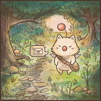 Hello, kupo by Paleona