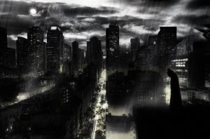 City of Gotham by deft-hands