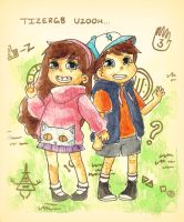 Mystery Twins by OutskirtsOfInsanity