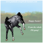 Happy Easter 2015 by painted-cowgirl