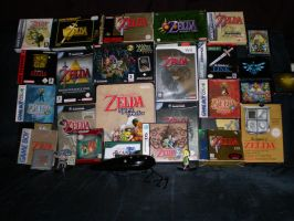 Complete Zelda Game Collection by Meredith-de-Drac